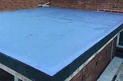 Flat roof thumb